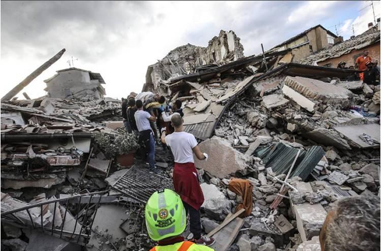Terremoto in Italia centrale: la Sicilia mette a disposizione aiuti e mezzi