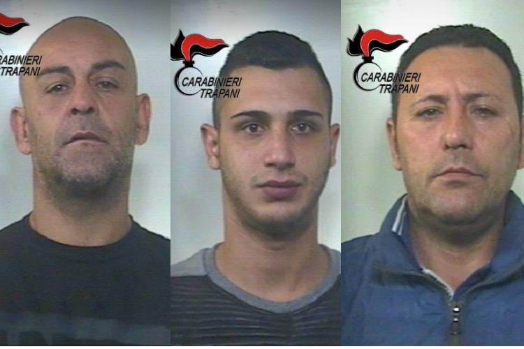 Rapinarono banca a Salemi, arrestati tre uomini